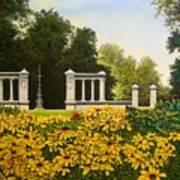 Jewel Box Gardens Art Print
