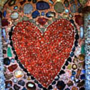 Jewel Heart Art Print