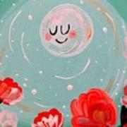 Jewel Moon Art Print