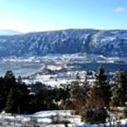 Jewel Of The Okanagan Art Print