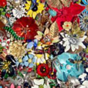 Jeweled Garden Art Print