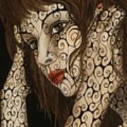 Jezebel Print by Tina Blondell