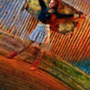 Jill Heron Magical Carpet Art Print