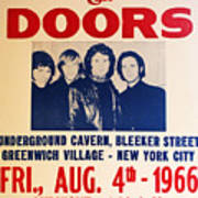 Jim Morrison And The Doors Poster Collection 3 Art Print