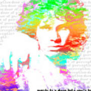 Jim Morrison Artwork Art Print