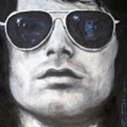 Jim Morrison IIi Art Print by Eric Dee
