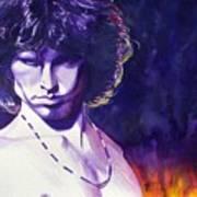Jim Morrison Art Print