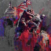 Jima Memorial  Art Print