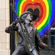 Jimi Hendrix Love On Capitol Hill Art Print