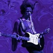 Jimi Hendrix Purple Haze Art Print