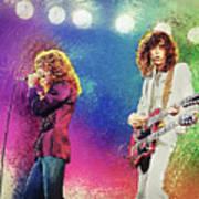 Jimmy Page - Robert Plant Art Print