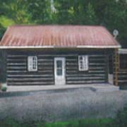 Jims Cabin Art Print