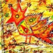 Jinga Bird II - Jinga Bird Series Art Print