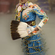 Pow Wow Jingle Dancer 7 Art Print