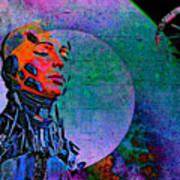 Jive Bot/robotics And Consciousness/she Had Left Her Robotic Body/ Art Print