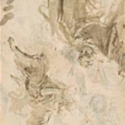 Joachim And The Angel Art Print