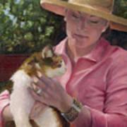 Joanne And Jj Art Print
