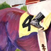 Jockey 4 Art Print
