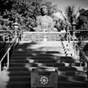 Jodo Shu Mission Lahaina Maui Art Print