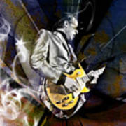 Joe Bonamassa Blues Guitarist Art Print