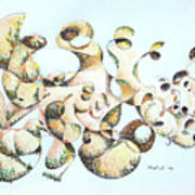 Joe Boulder Art Print