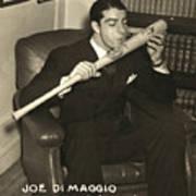 Joe Dimaggio (1914-1999) Art Print