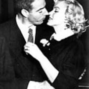 Joe Dimaggio, Marilyn Monroe Art Print