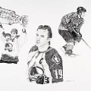 Joe Sakic Art Print