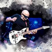 Joe Satriani Art Print