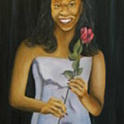 Joell Art Print