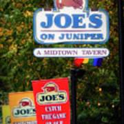 Joe's On Juniper Art Print