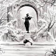 Johann Strauss  Art Print