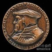 Johannes Pistorius (1504-1583) [obverse] Art Print