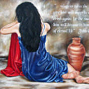 John 4 Verse 14 Art Print by Ilse Kleyn