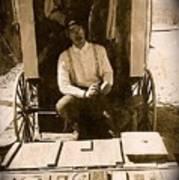 John A. Coffer  Traveling Tintype Photographer  Tombstone Arizona 1980-2009 Art Print