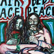 John And Yoko Art Print by Hannah Curran