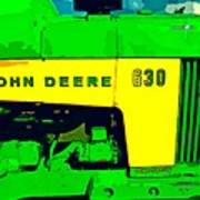 John Deere 630 Art Print