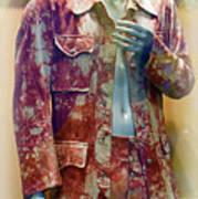 John Entwistle's Tie Died Suede Suit Art Print