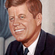 John F. Kennedy Art Print