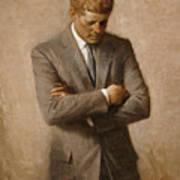 John F Kennedy Art Print