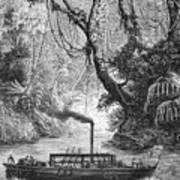 John Fitch Steamboat Art Print by Granger