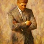 John Fitzgerald Kennedy Art Print