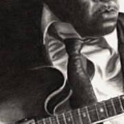John Lee Hooker Art Print
