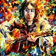 John Lennon Art Print by Leonid Afremov