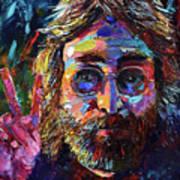 John Lennon Peace Art Print