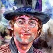 John Lennon Portrait Art Print