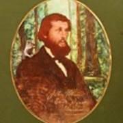 John Muir With A Chipmunk On His Shoulder Art Print