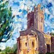 John Piper's Jewel - Sunningwell Church Art Print