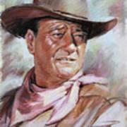 John Wayn Art Print