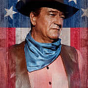 John Wayne Americas Cowboy Art Print